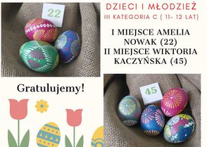 """Galeria 2020 """"Święto Opolskiej Pisanki""""- wyniki"""